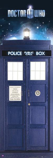 DOCTOR WHO - tardis - плакат