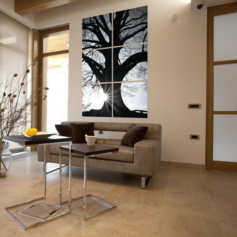 wandbilder wohnzimmer schwarz weiss. Black Bedroom Furniture Sets. Home Design Ideas