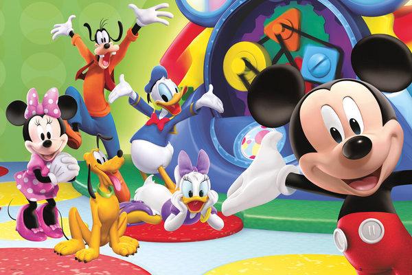Poster quadro la casa di topolino su for La fattoria di topolino