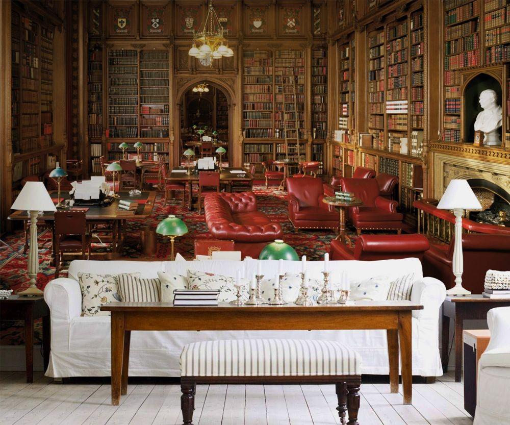 Bestel een bibliotheek house of lords fotobehang op - Muur bibliotheek ...
