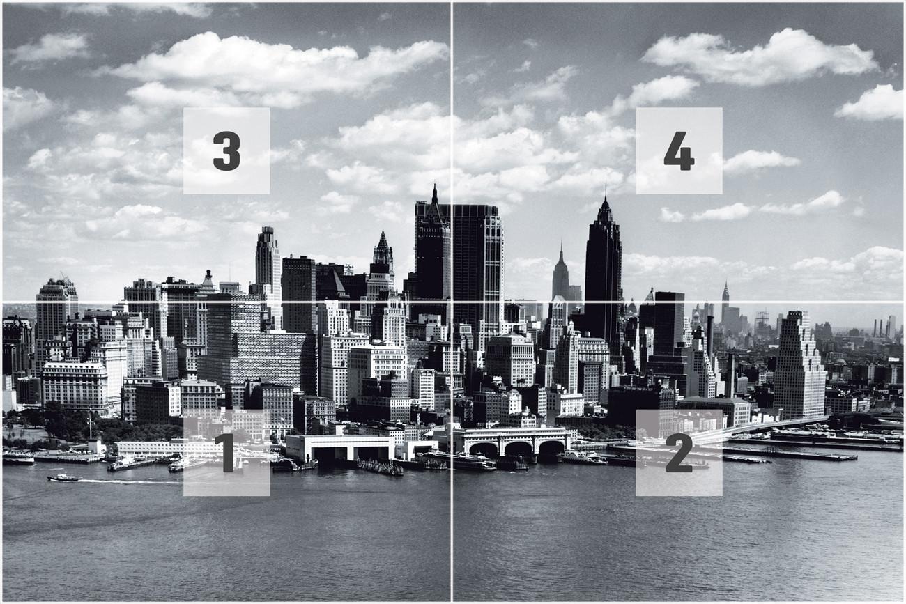 Carta da parati new york for Poster murali giganti
