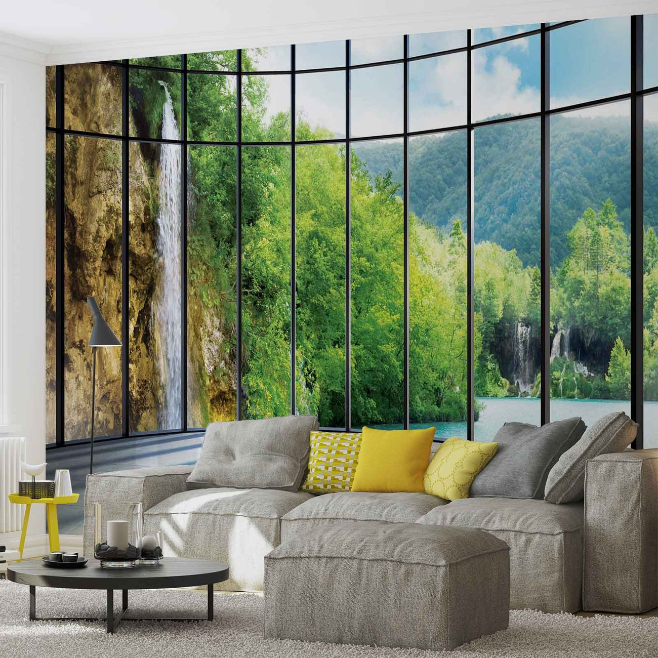 Fotomurale ver paisaje tropical papel pintado - Papel pintado paisajes ...