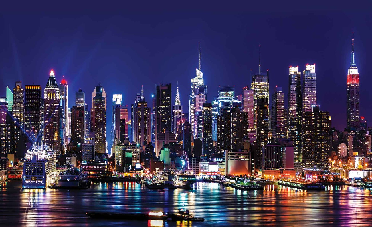 fototapete tapete stadt new york city bei europosters. Black Bedroom Furniture Sets. Home Design Ideas