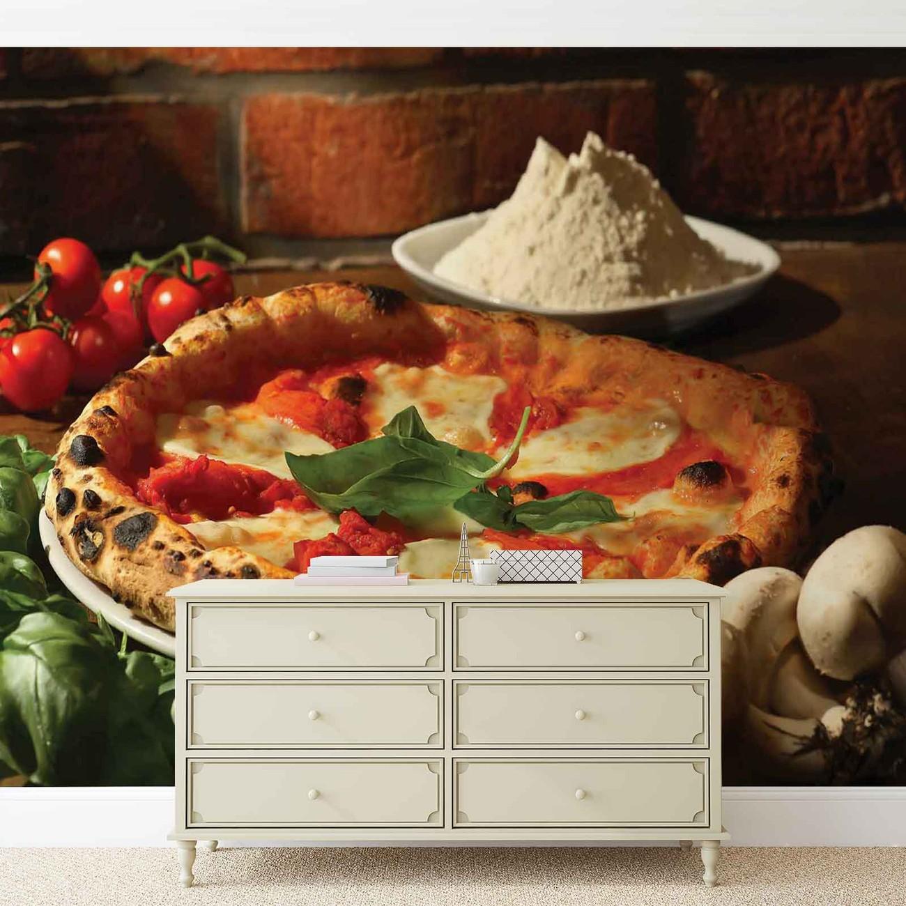 Fotomurale restaurante de comida italiana papel pintado for Restaurantes de comida italiana