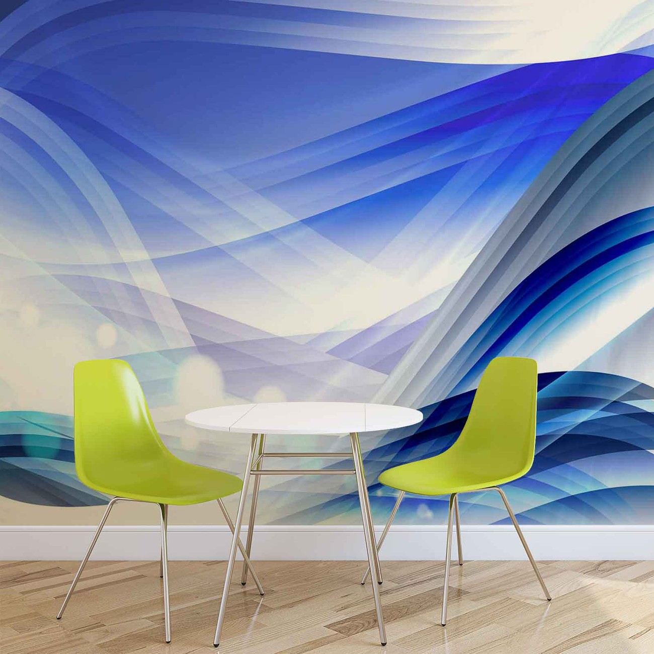 fototapete tapete abstrakt muster wellen bei europosters. Black Bedroom Furniture Sets. Home Design Ideas