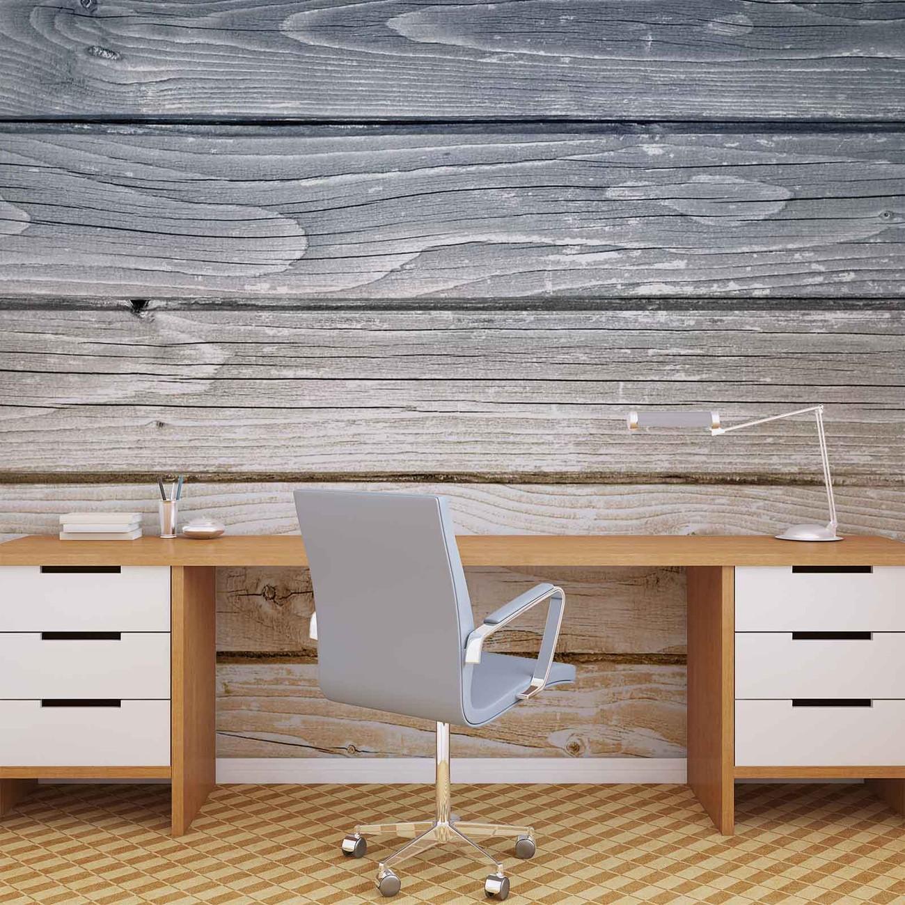 Fotomurale tablones de madera papel pintado - Tablones de madera segunda mano ...