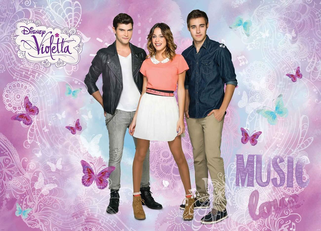 Violetta: Disney Violetta Fototapeta, Tapeta Na Zeď Na Posters.cz
