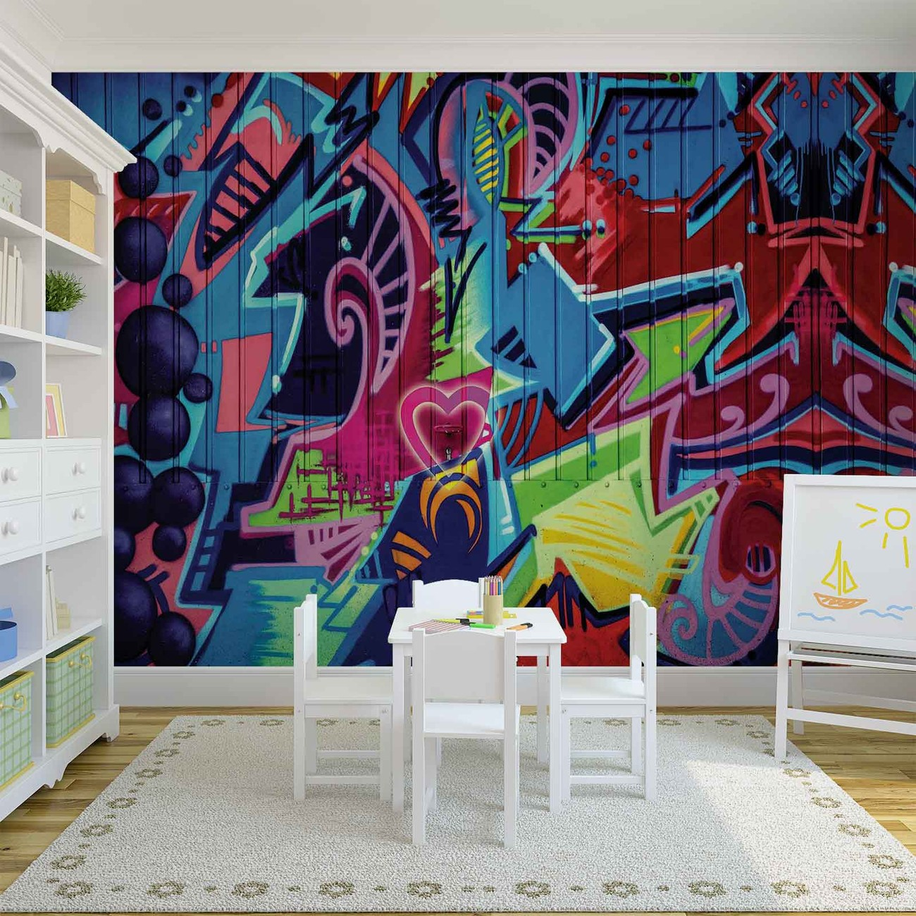 graffiti street art poster mural papier peint acheter. Black Bedroom Furniture Sets. Home Design Ideas