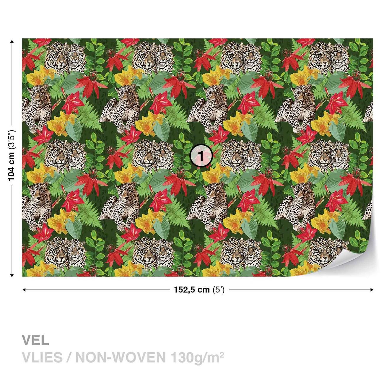 panth re jungle poster mural papier peint acheter le sur. Black Bedroom Furniture Sets. Home Design Ideas