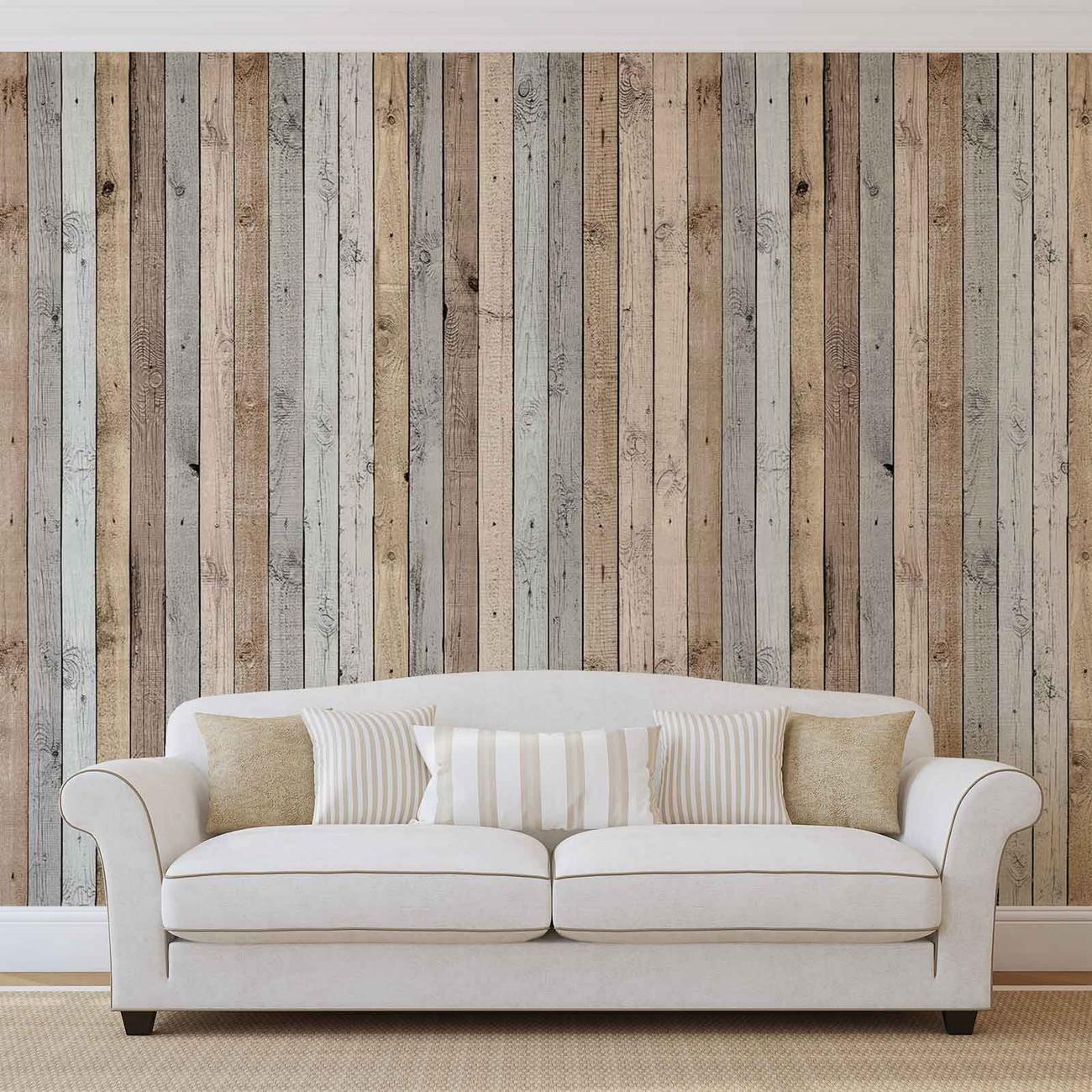 Fotomurale textura de tablones de madera papel pintado - Tablones de madera segunda mano ...