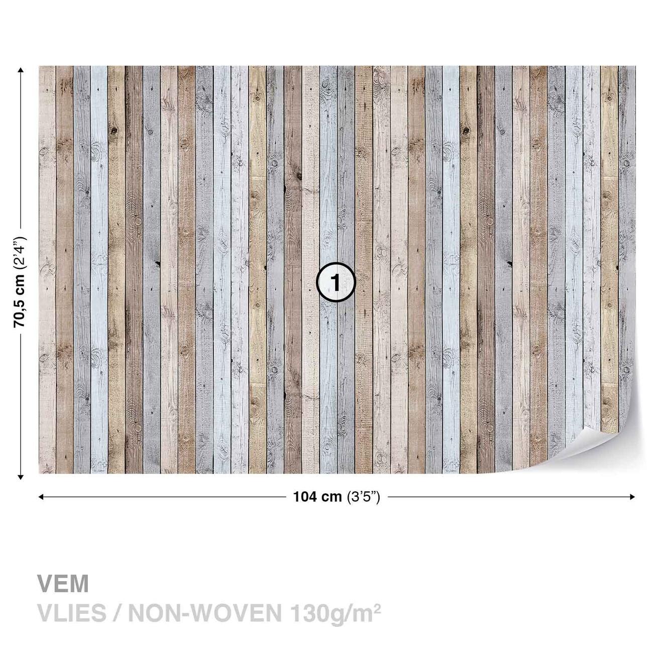 Texture de planches de bois poster mural papier peint for Acheter planche de bois