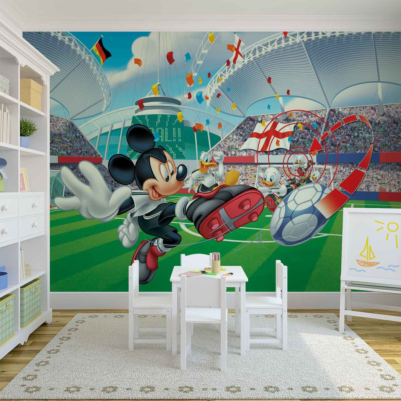 fototapete tapete disney micky maus bei europosters. Black Bedroom Furniture Sets. Home Design Ideas