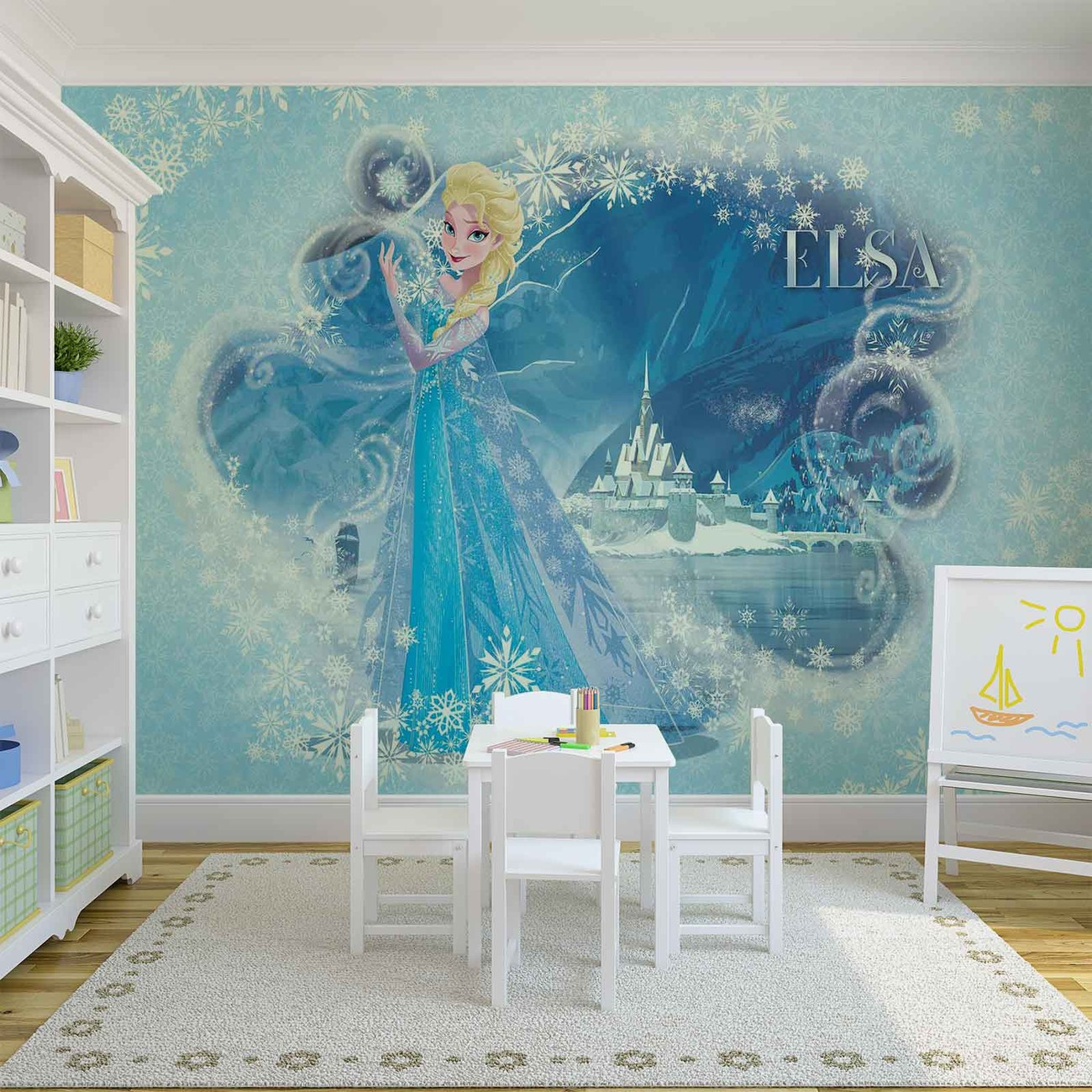 disney la reine des neiges elsa poster mural papier peint. Black Bedroom Furniture Sets. Home Design Ideas