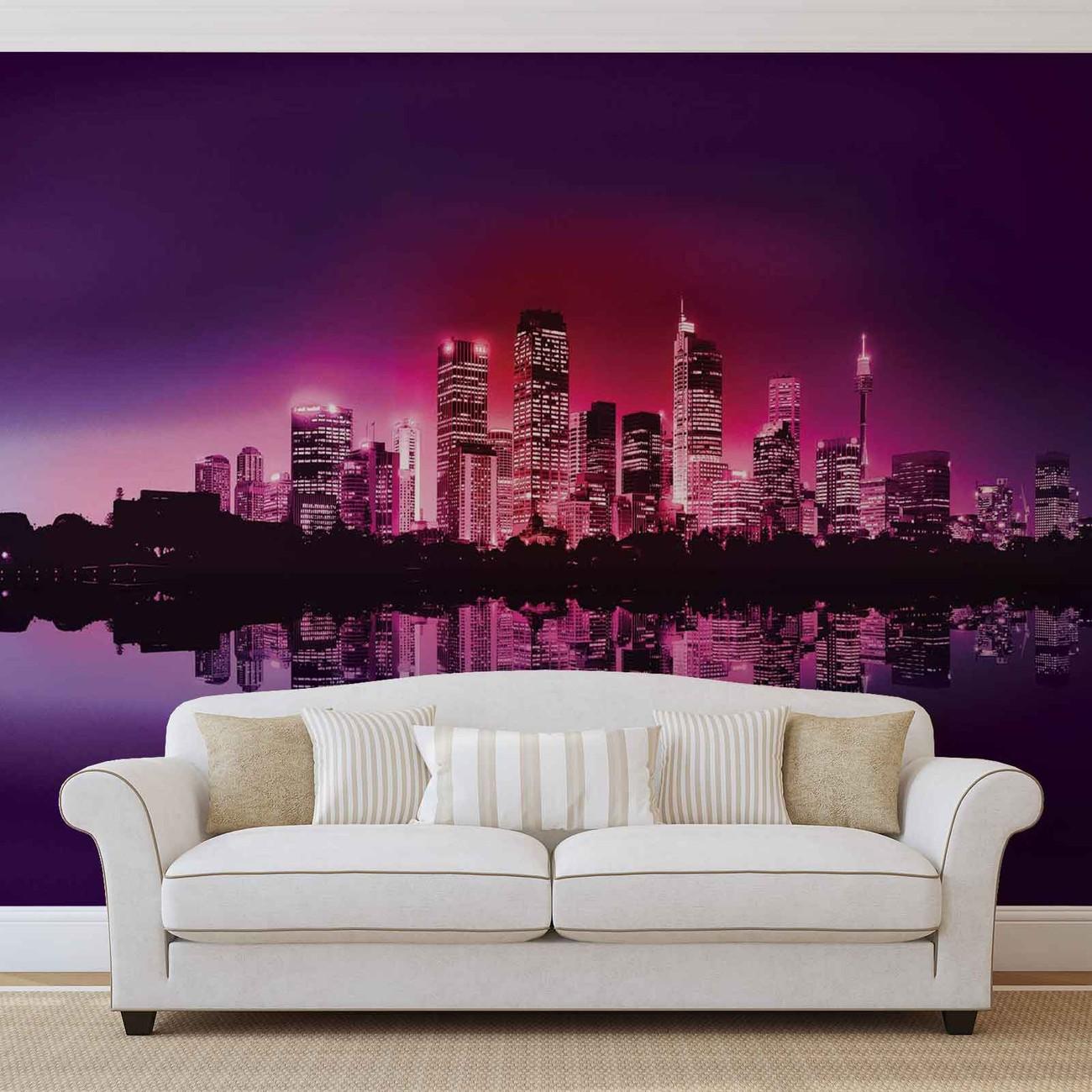 Fotomurale ciudad nueva york skyline papel pintado - Papel pintado nueva york ...