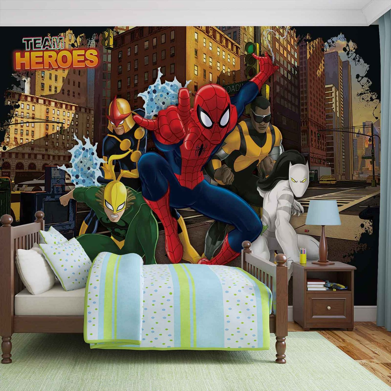 fototapete tapete spiderman marvel bei europosters. Black Bedroom Furniture Sets. Home Design Ideas