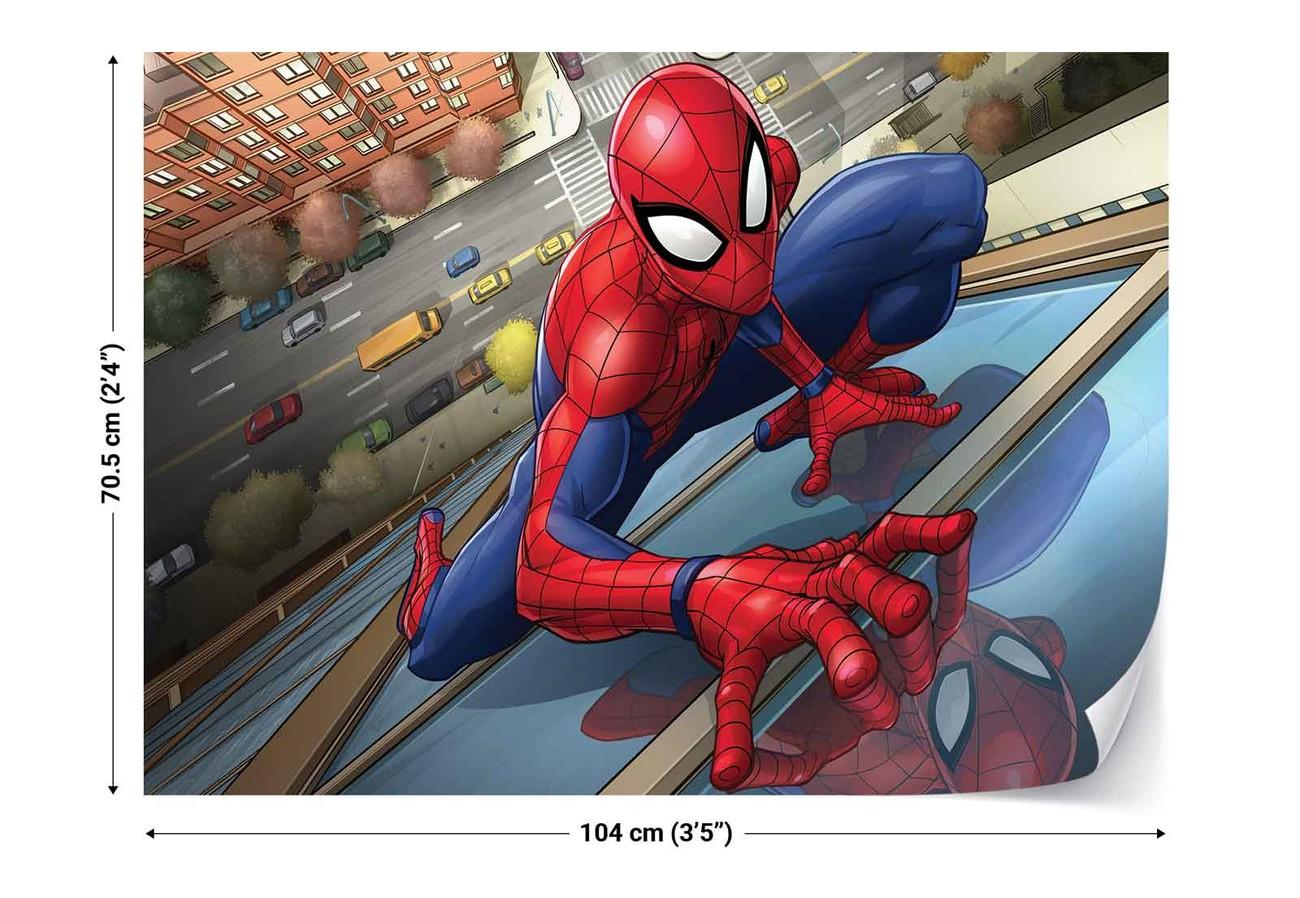 fototapete tapete marvel spiderman 10591 bei europosters. Black Bedroom Furniture Sets. Home Design Ideas