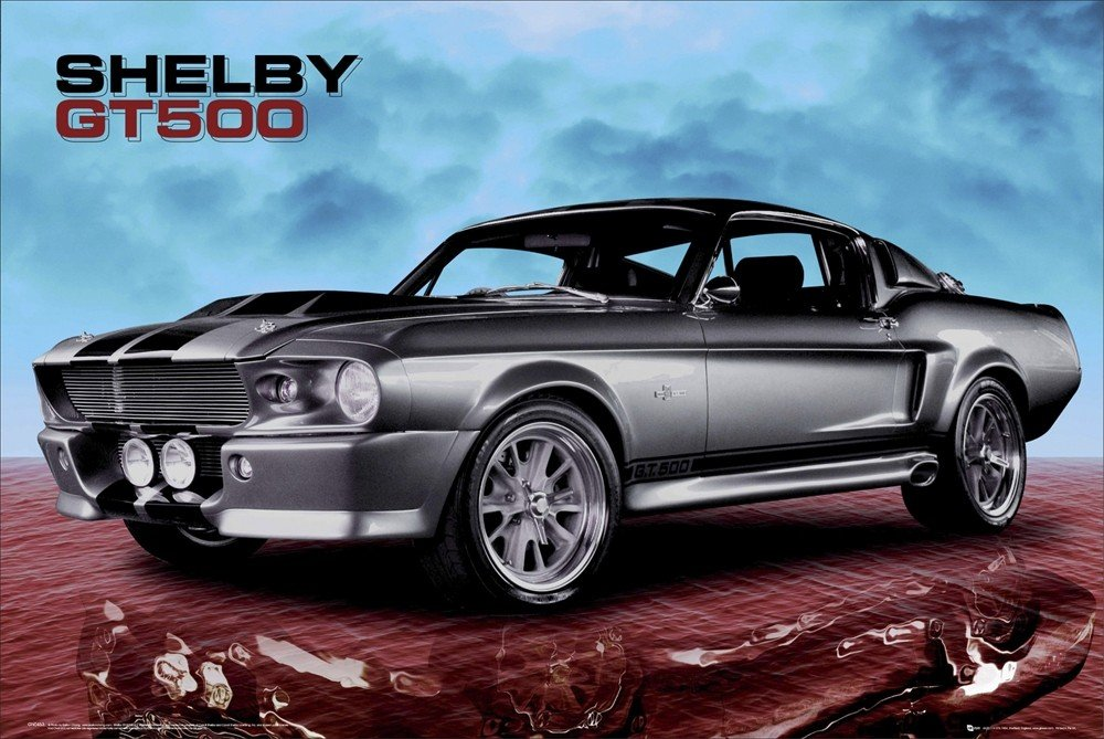 Favoloso Poster, Quadro Ford Shelby - gt 500 sky su EuroPosters.it ZN29