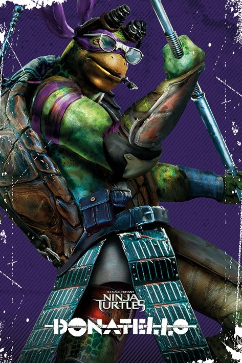 Les tortues ninja donatello poster affiche acheter le - Tortues ninja donatello ...