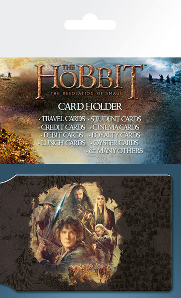 Hobbit collage astuccio porta tessere su for Porta hobbit