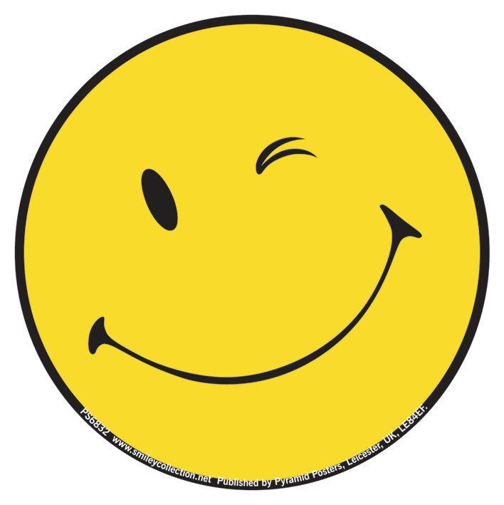 Vinyl-Aufkleber SMILEY - wink bei EuroPosters