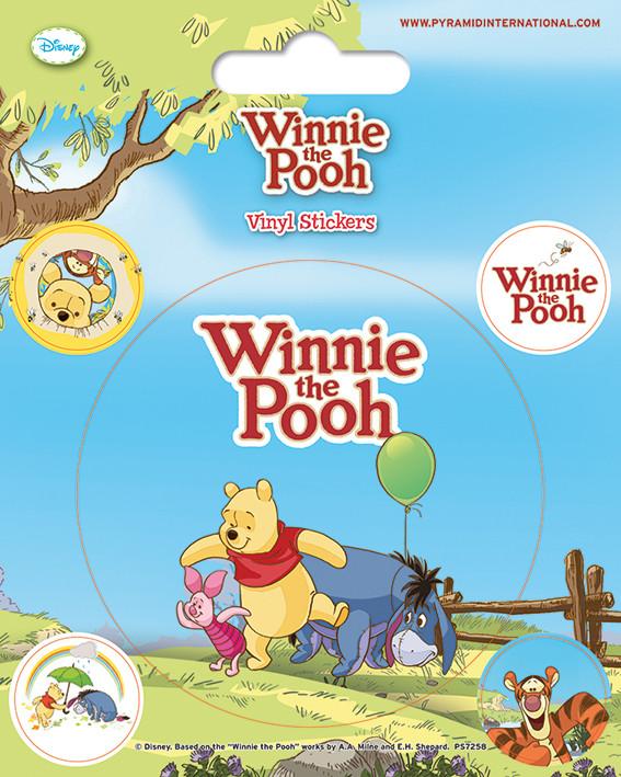 Vinyl-Aufkleber Winnie Puuh - Balloon bei EuroPosters