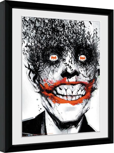 batman comic joker gerahmte poster bilder kaufen bei europosters. Black Bedroom Furniture Sets. Home Design Ideas