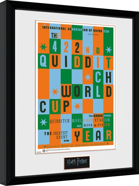 harry potter quidditch world cup gerahmte poster bilder kaufen bei europosters. Black Bedroom Furniture Sets. Home Design Ideas