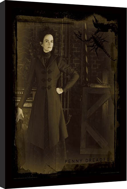 penny dreadful sepia gerahmte poster bilder kaufen bei europosters. Black Bedroom Furniture Sets. Home Design Ideas