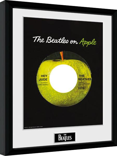 the beatles apple gerahmte poster bilder kaufen bei europosters. Black Bedroom Furniture Sets. Home Design Ideas
