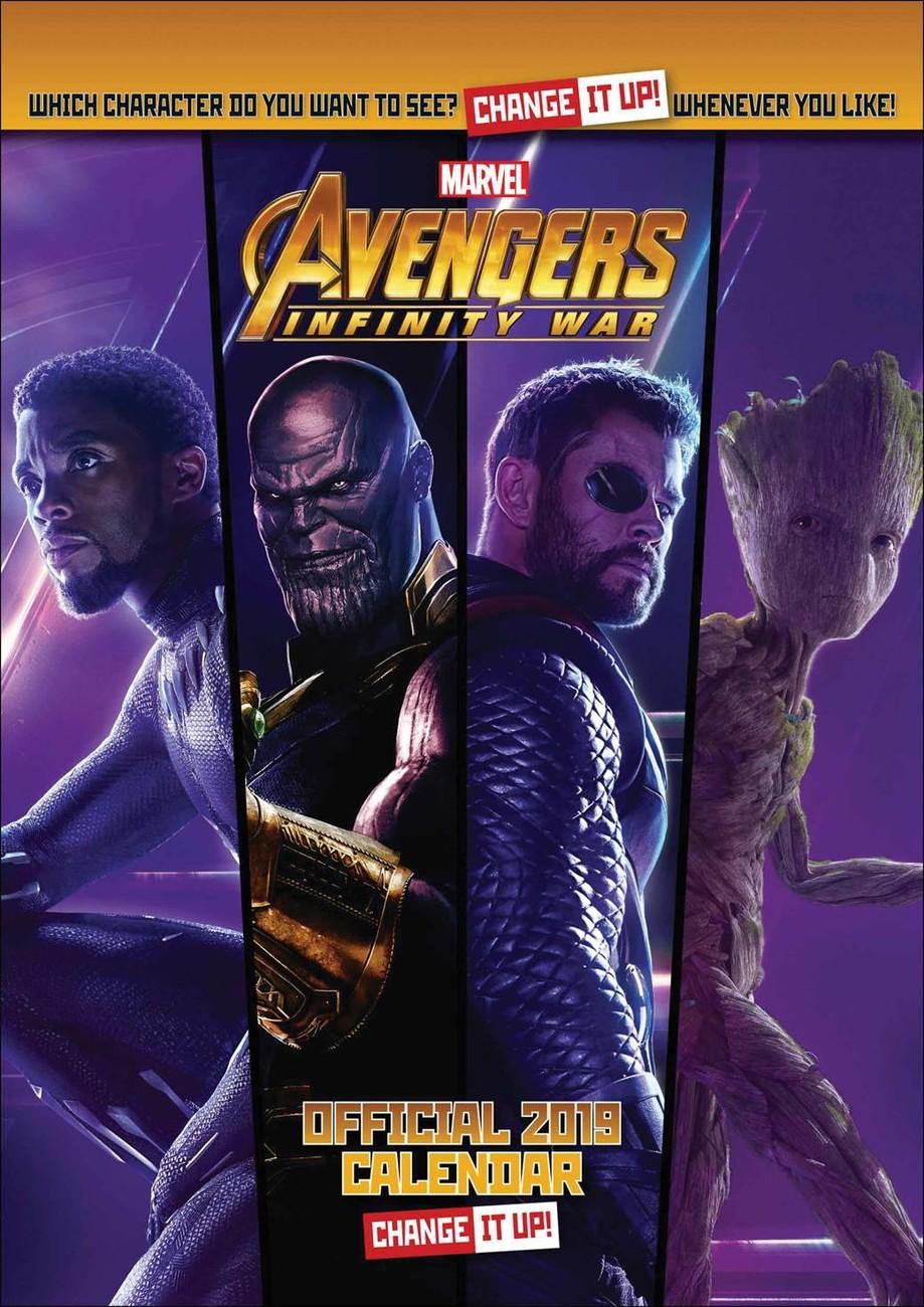 Calendario For Mens 2020.Calendario 2020 Avengers