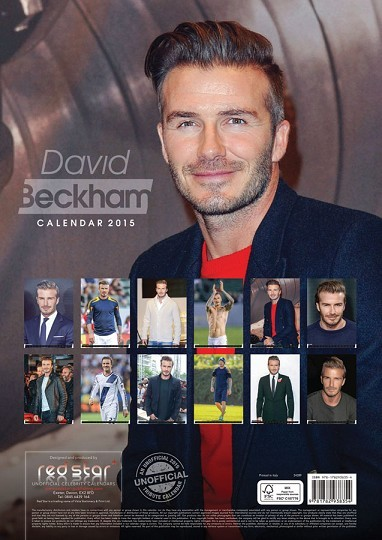 Calendario 2018 david beckham for Cornice poster 61x91