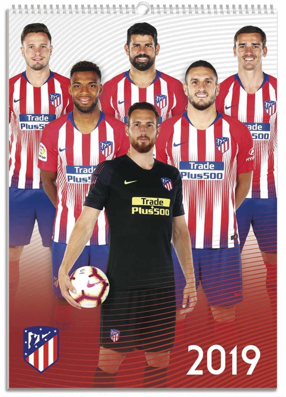 Calendario Atletico Madrid.Calendar 2020 Atletico Madrid