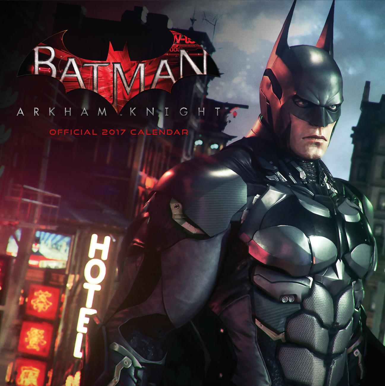 Batman: Arkham knight - Calendarios 2018