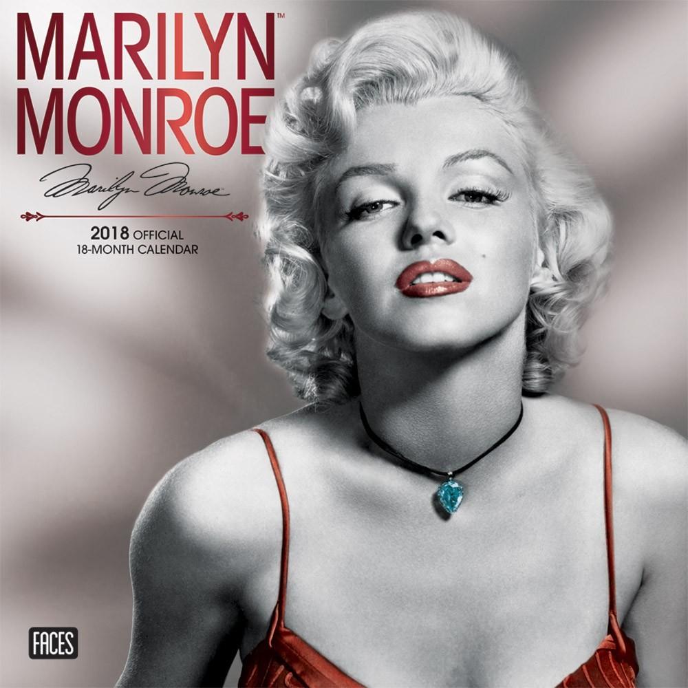 Calendar 2018 - Marilyn Monroe - Calendarios 2018