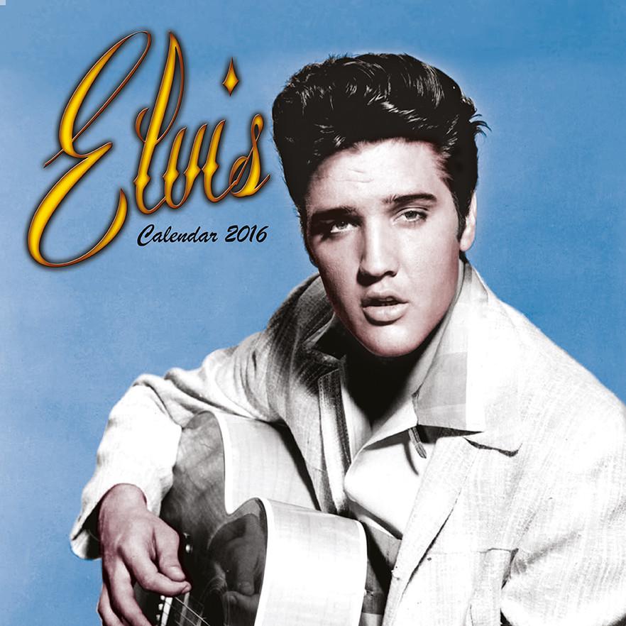 Elvis Presley - Calendarios 2018