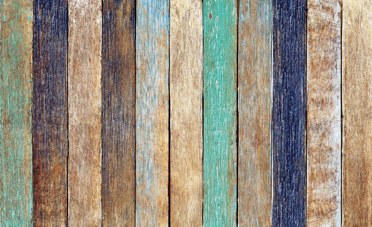 Carta da parati assi recinzione legno for Carta da parati tipo legno