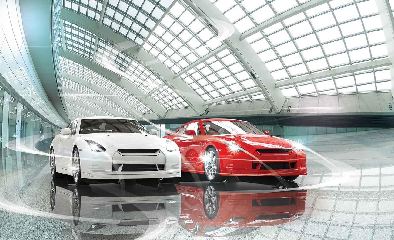 Carta da parati auto automobili for Prezzo carta parati