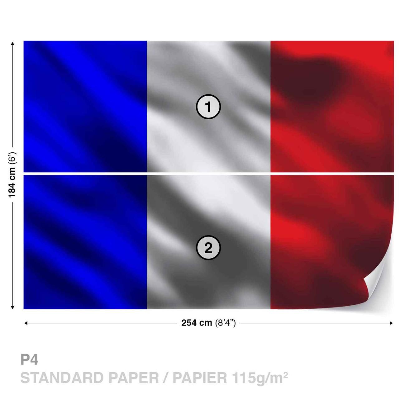 Carta Da Parati Bandiera Francese Francia Europosters It