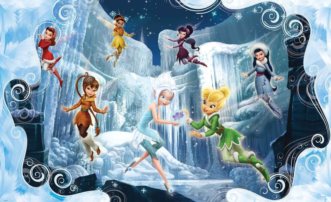 Carta Da Parati Fiabe Di Disney Fairies Trilli