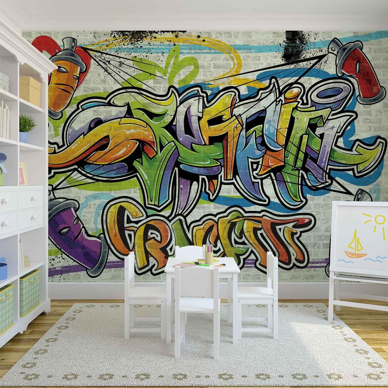 Carta da parati graffiti street art for Carta da parati arte