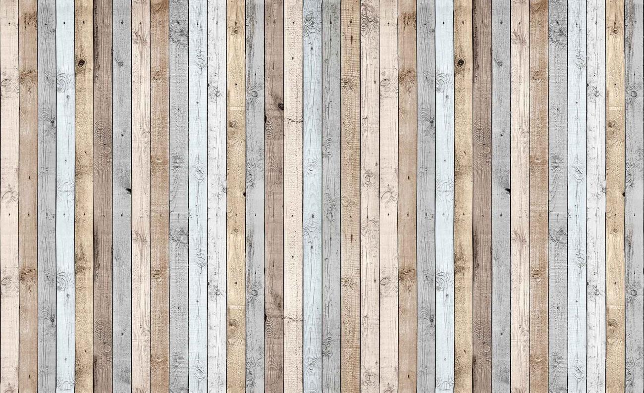 Assi Di Legno Decorate : Carta da parati motivo assi di legno europosters.it