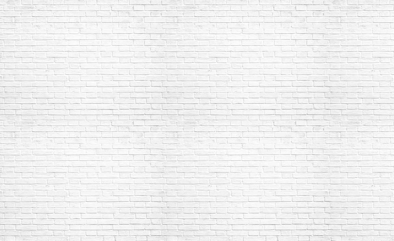 Carta da parati muro mattoni bianco for Carta da parati effetto muro mattoni