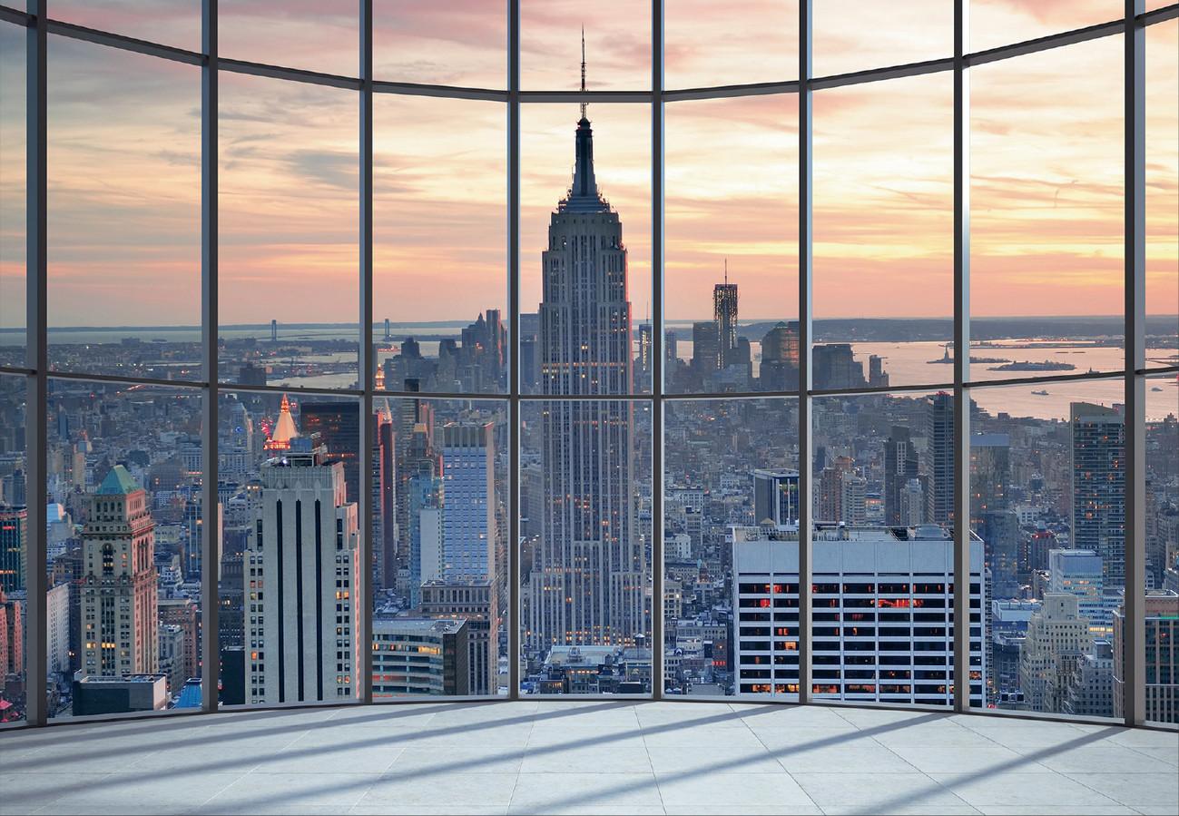 Carta da parati new york empire state building for Carta da parati new york ebay