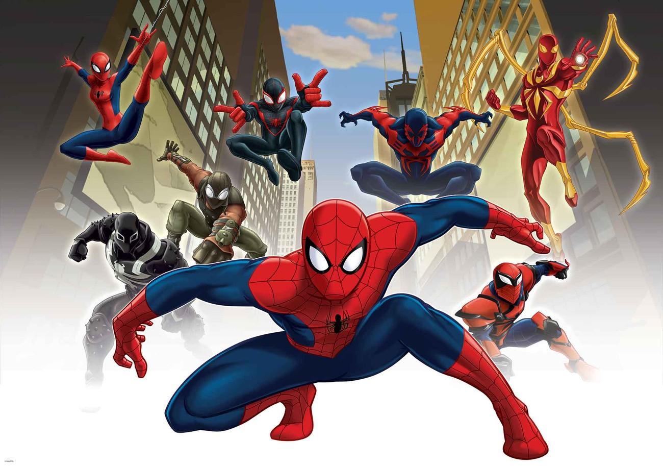 Carta da parati spiderman uomo ragno marvel for Uomo ragno immagini da colorare