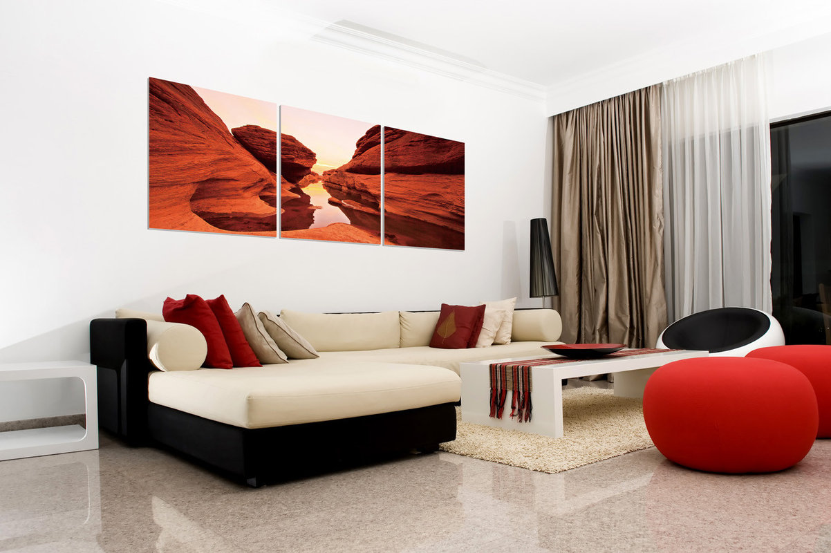 Red Rock modern festmény