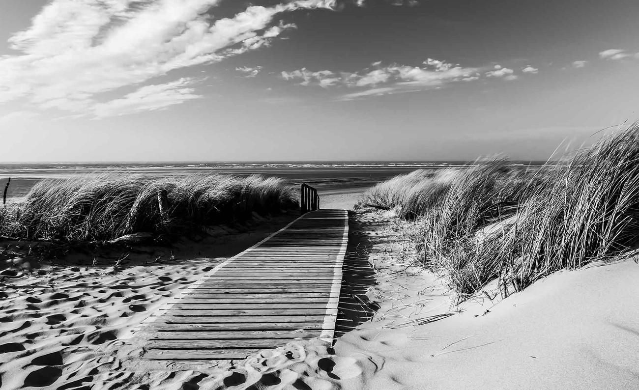 Beach Scene Fotobehang Behang Bestel Nu Op Europostersbe
