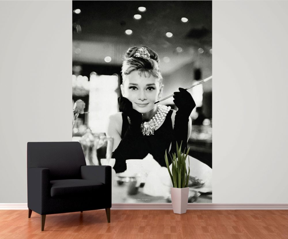 Fotomurale Audrey Hepburn - Breakfast at Tiffany\'s, Papel pintado ...