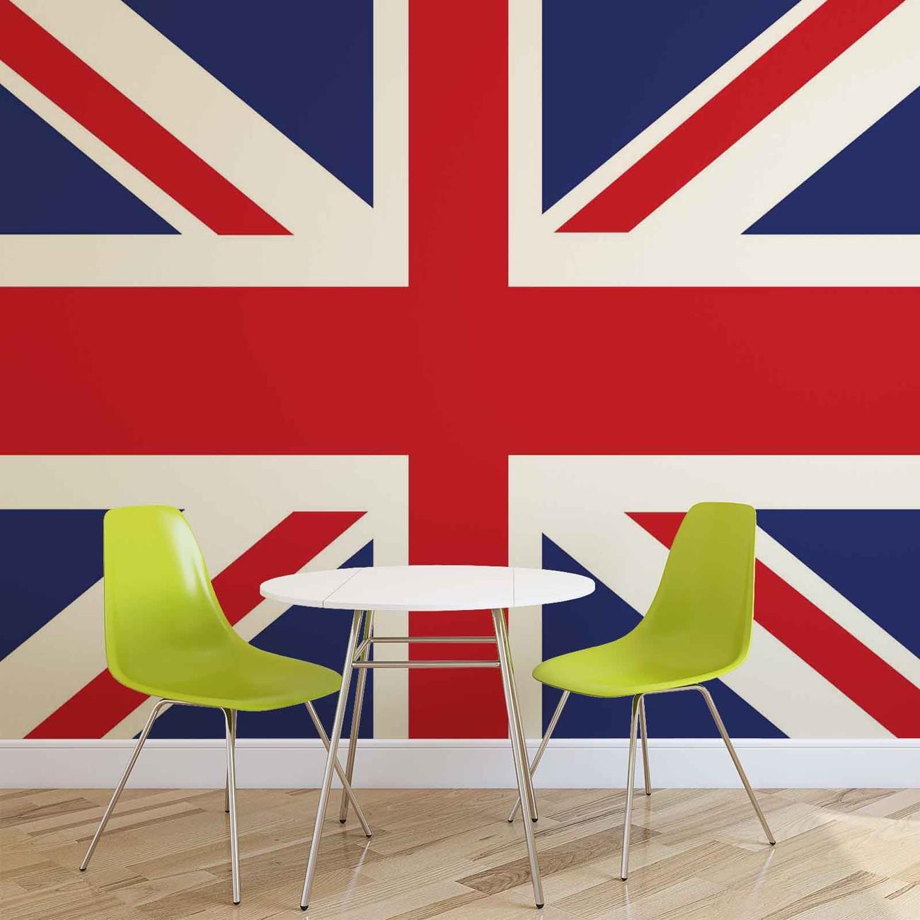 Fotomurale Bandera Gran Bretaña Reino Unido, Papel pintado ...