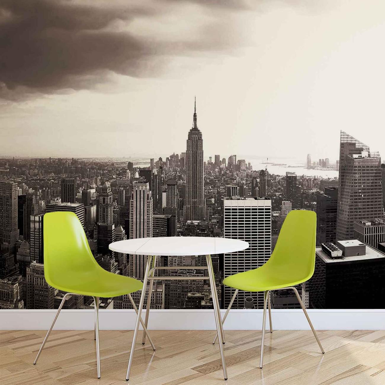 Fotomurale ciudad nueva york skyline empire state papel - Papel pintado nueva york ...