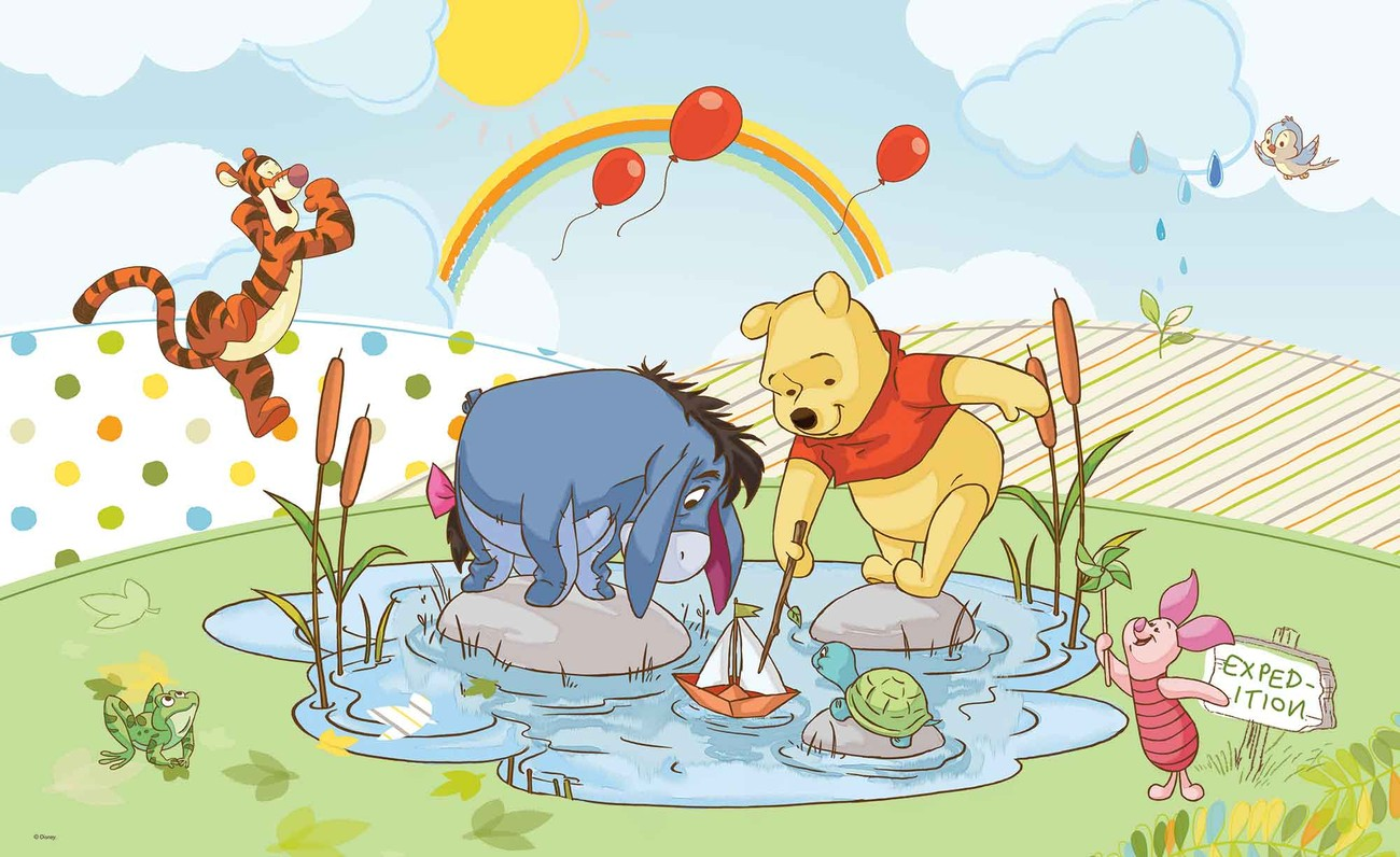 Fotomurale Disney Winnie Pooh Cochinillo Tigger Eeyore, Papel ...